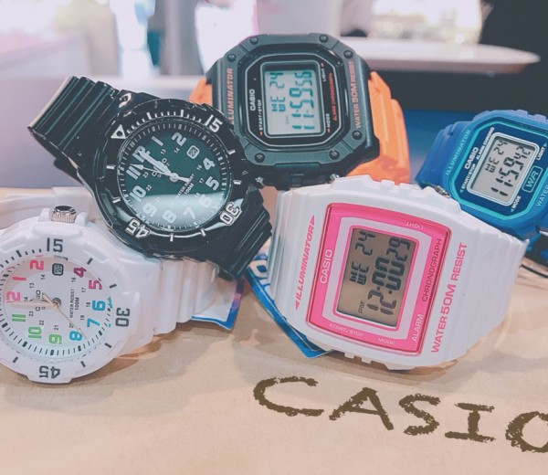 casio quartz summer