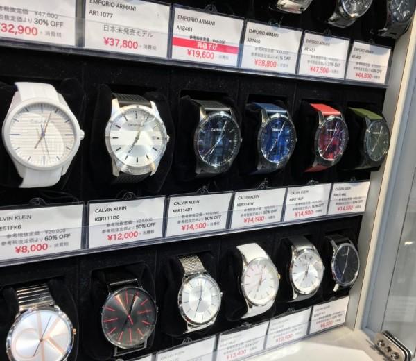 CK 夏にぴったりの時計が入荷しております!