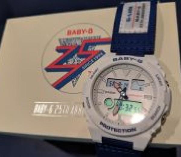 限定モデル☆BABY-G25周年モデル