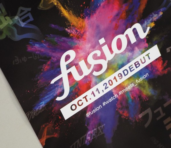 fusion【OCT.11,2019 DEBUT】