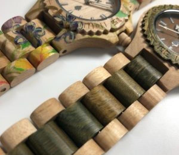 ~話題!?の木の時計~