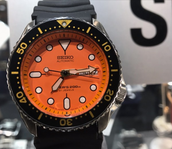 SEIKO 5 DIVER'S ORANGE BOY!!!