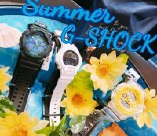 G-SHOCKの夏!!!