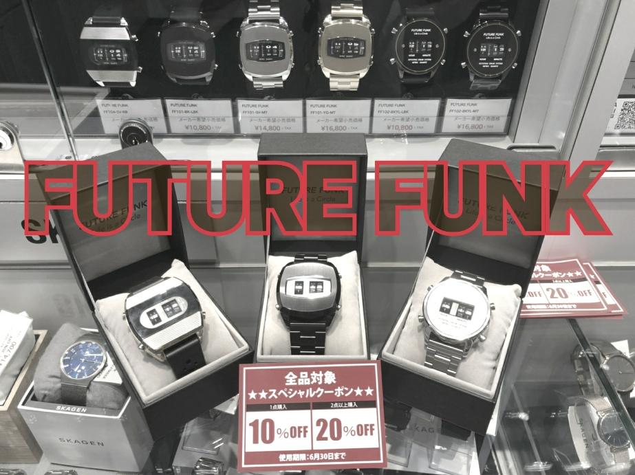 ローラー式腕時計 『FUTURE FUNK』